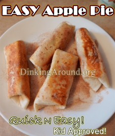 For Recipe Click Here - QUICK n EASY Apple Pies – Kid Approved