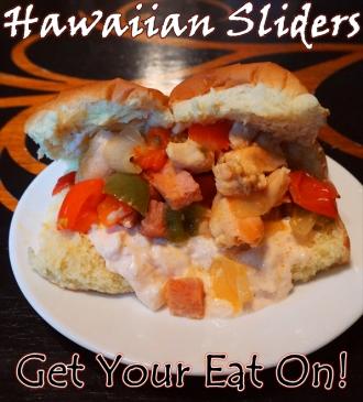 For Recipe Click Here - Mahalo!!! Chicken Wiches (Hawaiian Chicken Sliders w/ SPECIAL Hawaiian SAUCE)