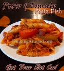 For Recipe Click Here - Pesty Lil Pasta'd Maters (Pesto and Tomato Pasta Dish)
