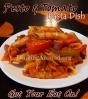 For Recipe Click Here - Pesty Lil Pasta'd Maters (Pesto and Tomato Pasta Dish)
