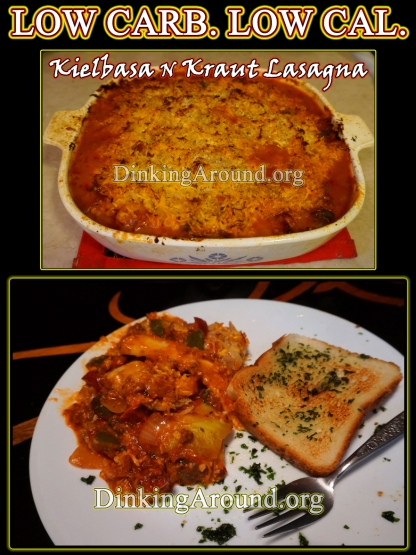 For Recipe Click Here - Kielbasa N Kraut Lasagna
