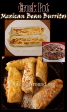 For Recipe Click Here - Crock Pot Mexican Bean Burritos
