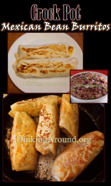 For Recipe Click Here - Crock Pot Mexican Bean Burritos
