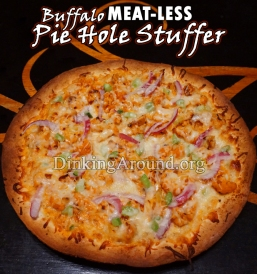 For Recipe Click Here - Mock Buff Pie Hole Stuffer (Mock Buffalo Chicken Pizza – NO MEAT!)