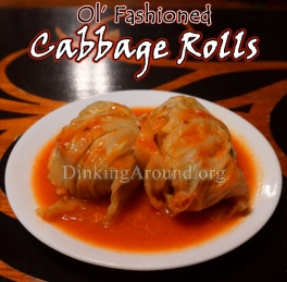 For Recipe Click Here - Ol' Rolls (Old Fashion Cabbage Rolls)
