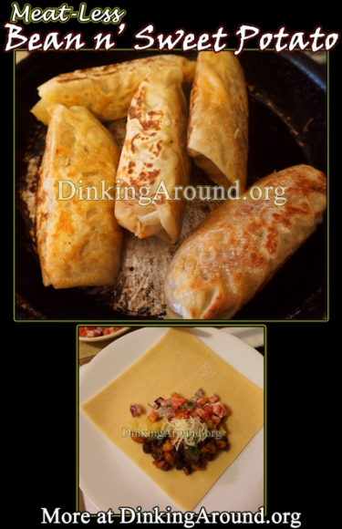 For Recipe Click Here - Bean and Sweet Potato Rolls