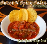 For Recipe Click Here - Tay's Sweet N Spicy Salsa - Jalapeno!