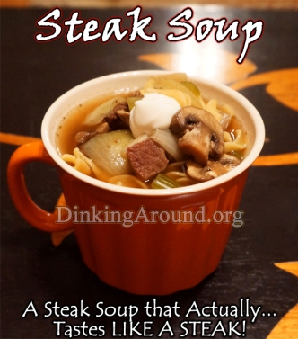 For Recipe Click Here - Steak Soup