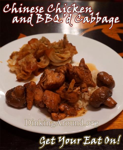 chinesechickenbbqcabbage