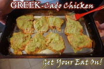 For Recipe Click Here - Greek-cado Chicken