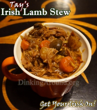 Lil Bo Peep has lost her sheep... And, now we know why! Tay's Irish Lamb Stew