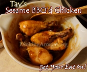 For Recipe Click Here - Tay's Sesame BBQ Chicken