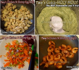 A FAVORITE!!! Tay's HEALTHY Awesome Chicken N Shrimp Avocado Egg Rolls (Not a Shrimp Person? Options Below)