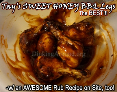 For Recipe Click Here - Tay's Sweet Honey BBQ