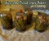canninggreenbeansspicydill